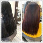 Een foto van een haarwerk oplossing voor een tevreden klant in Apeldoorn bij exclusieve kapsalon Hair, Style en Visagie